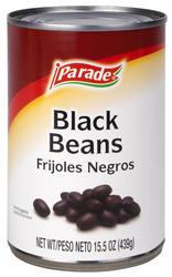 Parade Black Beans - 15 oz