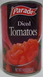 Parade Diced Tomatoes - 14.5 oz