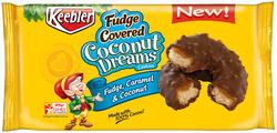 Keebler Fudge Covered Coconut Dreams Cookies - 8.5 oz.