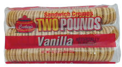 Carley's Vanilla Sandwich Cremes - 32 oz