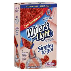 Wyler's Singles to Go Raspberry Soft Drink Mix - 12-ct