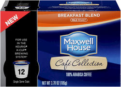 Maxwell House® Breakfast Blend Single Serve Cups - 12 ct. / 3.70 oz.
