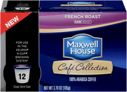 Maxwell House® French Roast Single Serve Cups - 12 ct. / 3.70 oz.