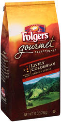 Folgers Gourmet Selections Lively Columbian Ground Coffee - 11 oz