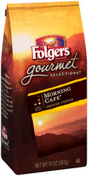 Folgers Gourmet Selections Morning Cafe Ground Coffee - 10 oz