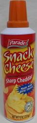 Parade Sharp Cheddar Snack Cheese - 8 oz