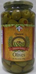 Emilio Stuffed Queen Olives - 21 oz