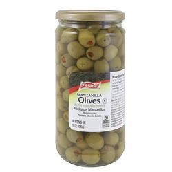 Parade Stuffed Manzanilla Olives - 15 oz