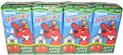 Hansen's Junior Juice 100% Apple Juice Boxes - 4-pk