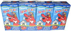 Hansen's Junior Juice 100% Fruit Punch Juice Boxes - 4-pk