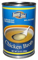 Hansen's Select Chicken Broth - 14.5 oz