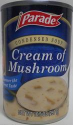 Parade Cream of Mushroom Soup - 10.5 oz