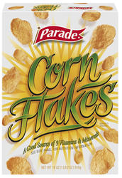 Parade Corn Flakes Cereal - 18 oz