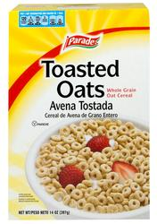 Parade Toasted Oats Cereal - 14 oz