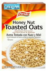 Parade Honey Nut Toasted Oats Cereal - 12.25 oz