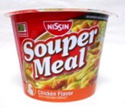 Nissin Chicken Souper Meal - 4-oz Microwave Bowl
