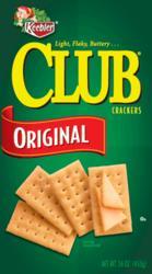 Keebler Club Original Crackers - 16 oz.