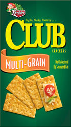 Keebler Club Multi-Grain Crackers - 15 oz.
