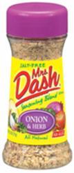 Mrs. Dash Onion & Herb Seasoning Blend - 2.5 oz