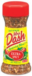 Mrs. Dash Extra Spicy Seasoning Blend - 2.5 oz