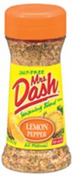 Mrs. Dash Lemon Pepper Seasoning Blend - 2.5 oz