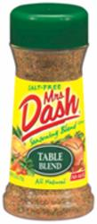 Mrs. Dash Table Blend Seasoning Blend - 2.5 oz