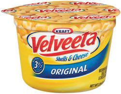 Kraft® Velveeta® Original Shells and Cheese - 2.19 oz.