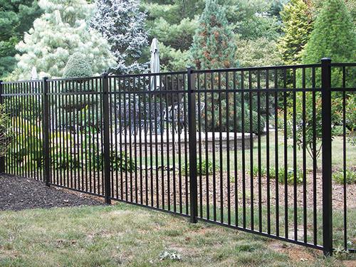 Ez Fence Asbury 4 6 Quot X 6 3 Rail Aluminum Fence Panel At