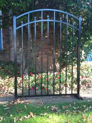 "EZ Fence Columbia 60"" x 48"" Arch Gate"