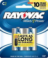 Rayovac C Alkaline Batteries - 2-pk