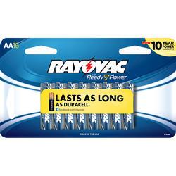 Rayovac AA Alkaline Batteries - 16-pk