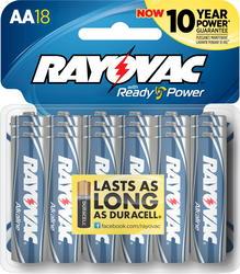 Rayovac AA Alkaline Batteries - 18-pk