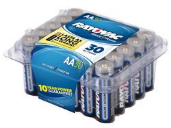 Rayovac AA Alkaline Batteries - Reclosable 30-pk