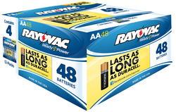 Rayovac AA Alkaline Batteries - 48-pk