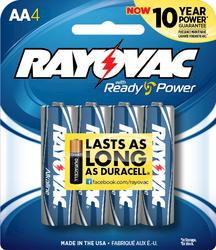 Rayovac AA Alkaline Batteries - 4-pk