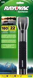 Rayovac Sportsman Xtreme 3C Metal LED Flashlight