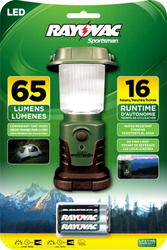 Rayovac Sportsman 3AA LED Mini Lantern with Batteries