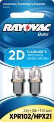 Rayovac Xenon Bulbs for 2D/3D Flashlight - 2-pk