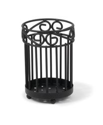 Scroll Utensil Holder - Black