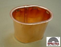 """Spectra 3"""" Copper Gutter Outlet"""
