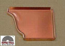 "Spectra 6"" Copper Right Endcap"