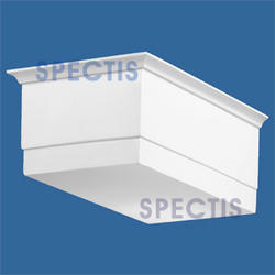 """Spectis 15"""" x 6"""" x 9-1/4"""" Smooth White Poly Block"""