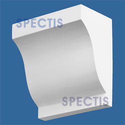 "Spectis 7"" x 12"" x 12"" Smooth White Poly Block"