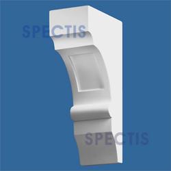 """Spectis 10-1/2"""" x 20"""" x 6"""" Smooth White Poly Block"""