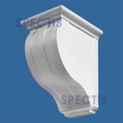 """Spectis 15-5/8"""" x 19-3/8"""" x 11-1/2"""" Decorative White Poly Block"""