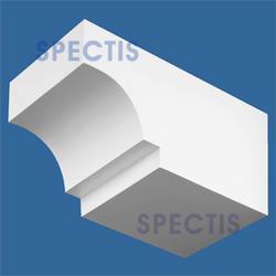 """Spectis 12"""" x 5-1/2"""" x 5-1/2"""" Smooth White Poly Block"""