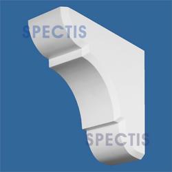 """Spectis 12"""" x 13"""" x 5-1/2"""" Smooth White Poly Block"""