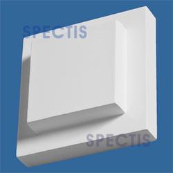 """Spectis 2-1/4"""" x 6-1/2"""" x 6-1/2"""" Smooth White Poly Block"""