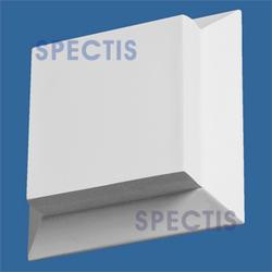 """Spectis 1-7/8"""" x 6"""" x 6"""" Smooth White Poly Block"""