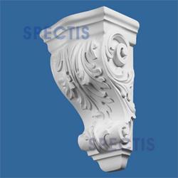 """Spectis 6"""" x 13-1/2"""" x 7-7/8"""" Decorative White Poly Block"""